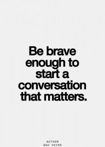 It's a great day to start a conversation!